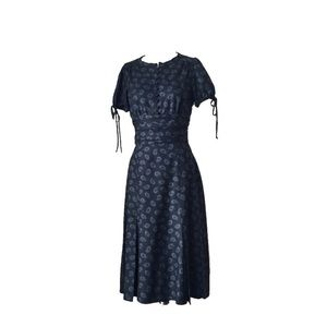 Marc by Marc Jacobs Retro Pin Up Floral Midi Dress